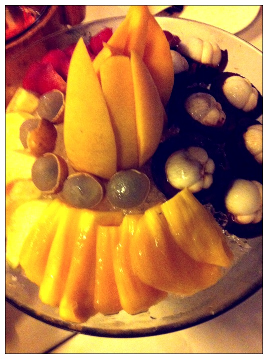 Exotic fruit plate Singapore