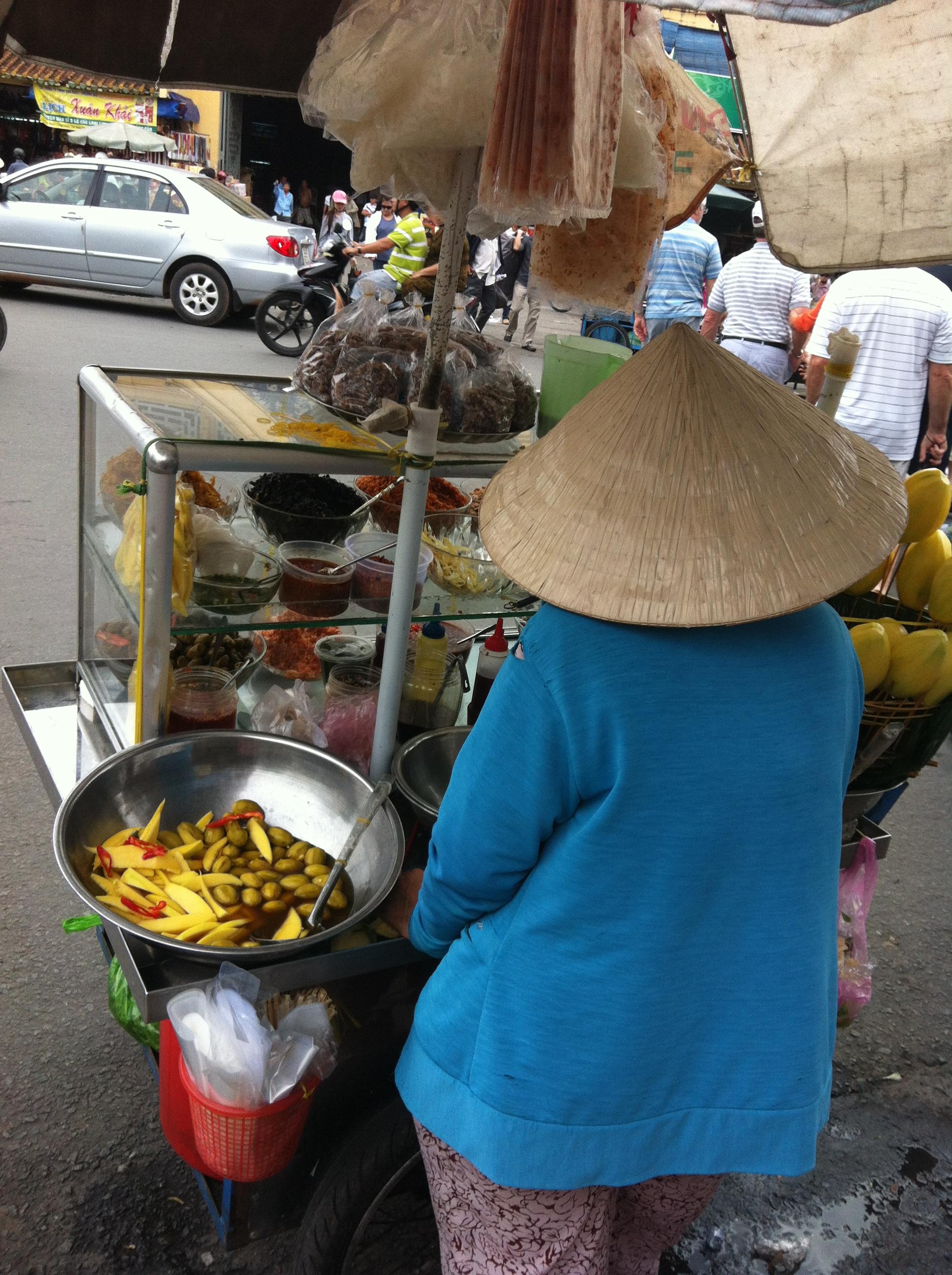 Street vendor Ho Chi Minh City