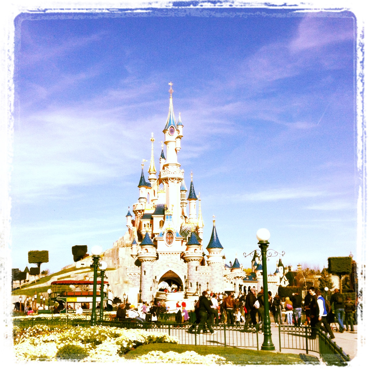 Sleeping Beauty's castle Disneyland Paris