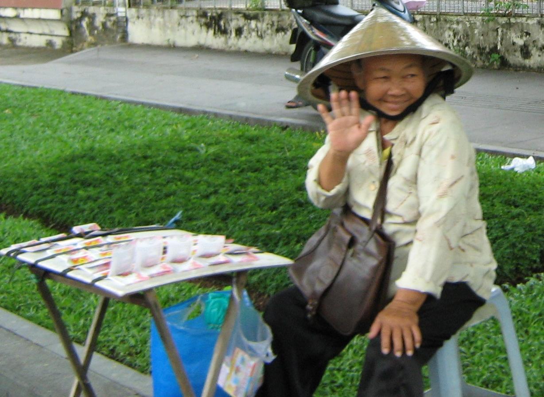 street vendor Ho Chi Minh
