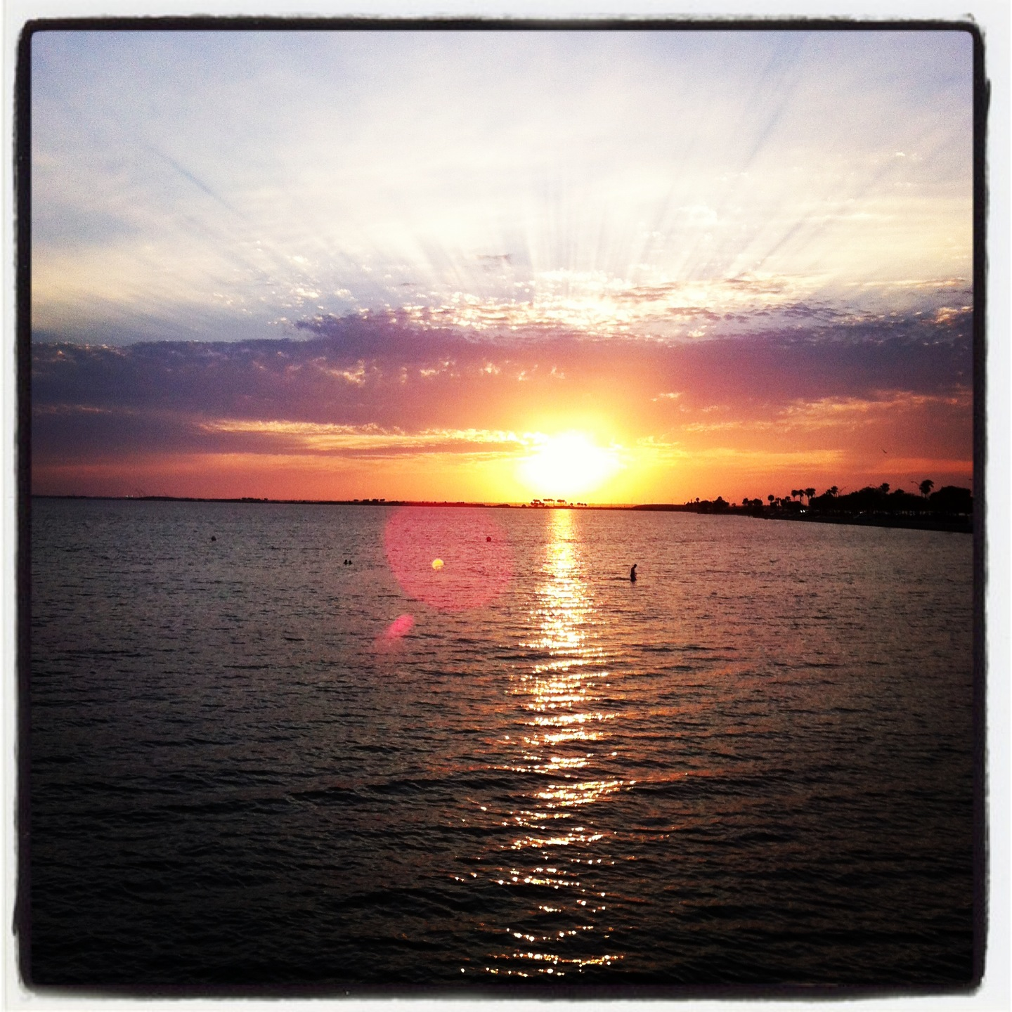 Sunset in Tampa