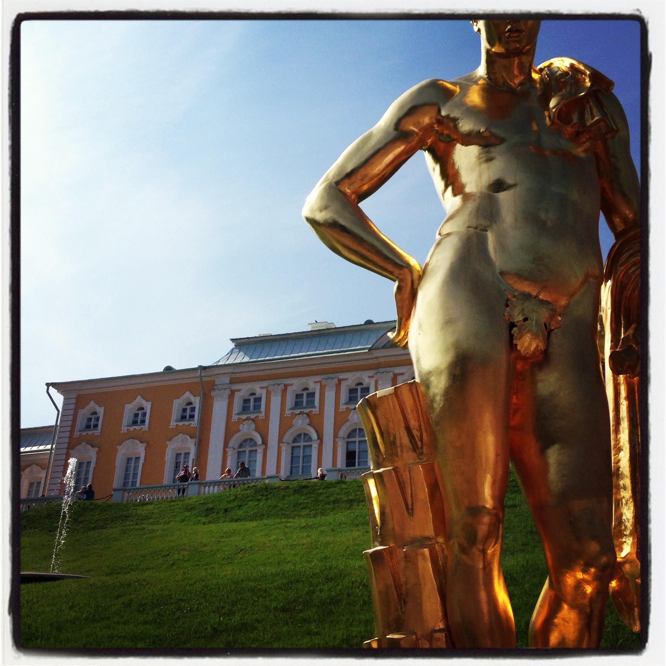 Statue, Peterhof