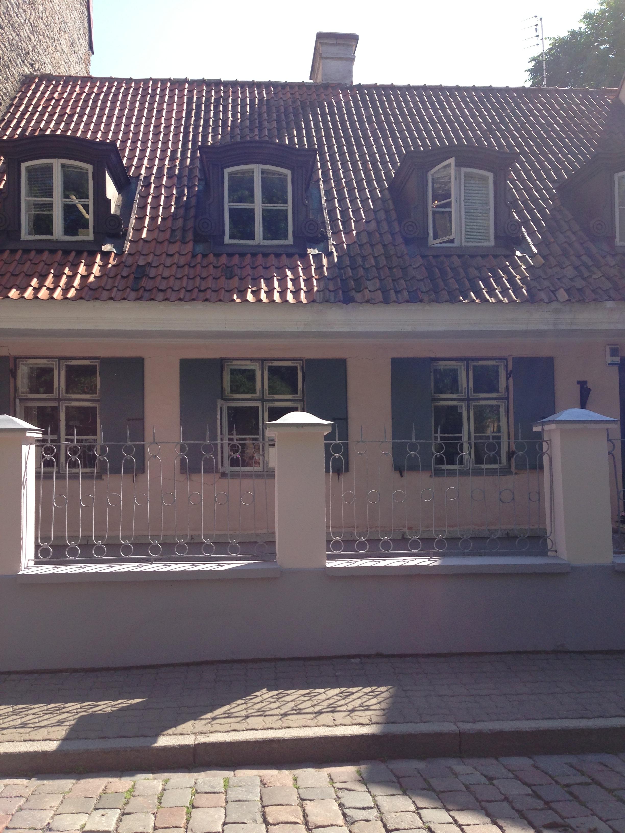 Traditional cottage, Tallinn