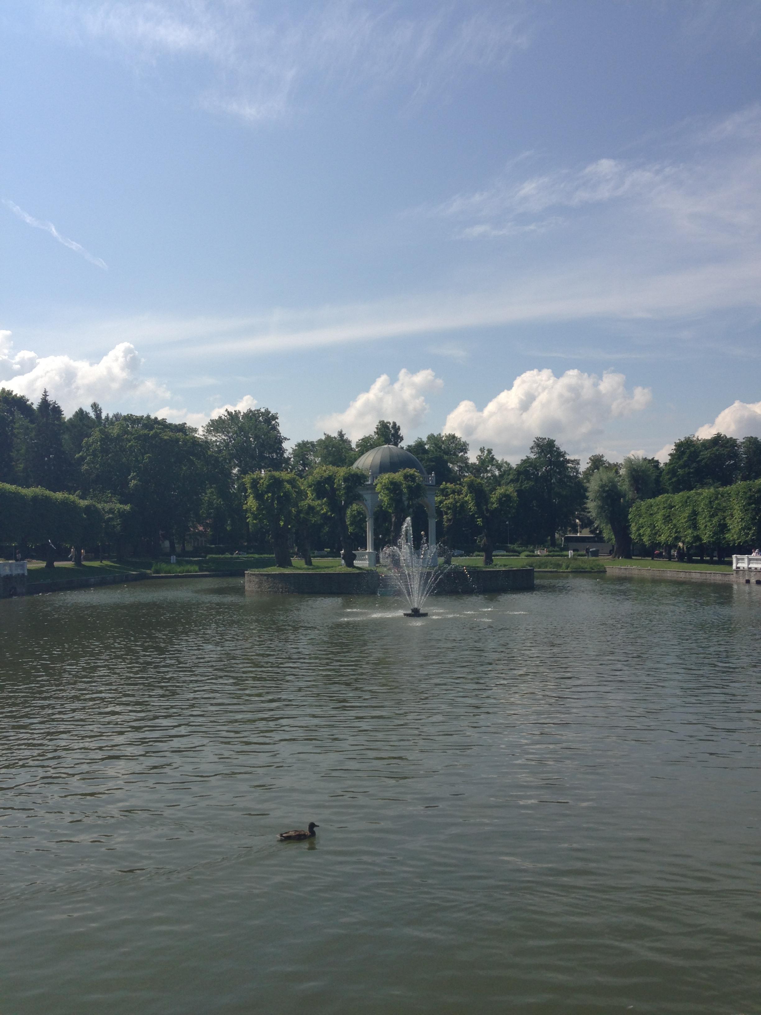 Swan Lake, Kadriorg Palace
