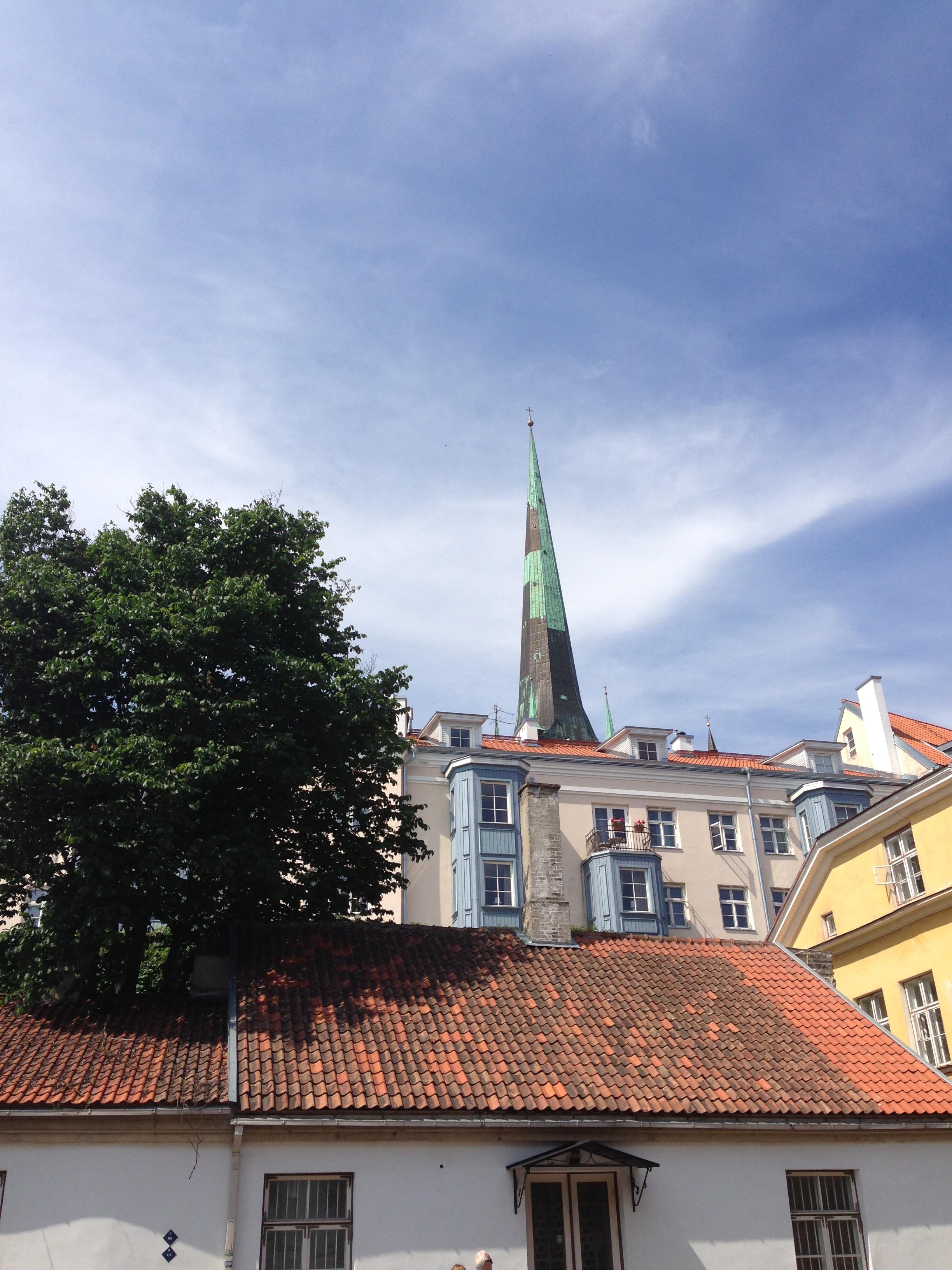 Rooftops, Tallinn
