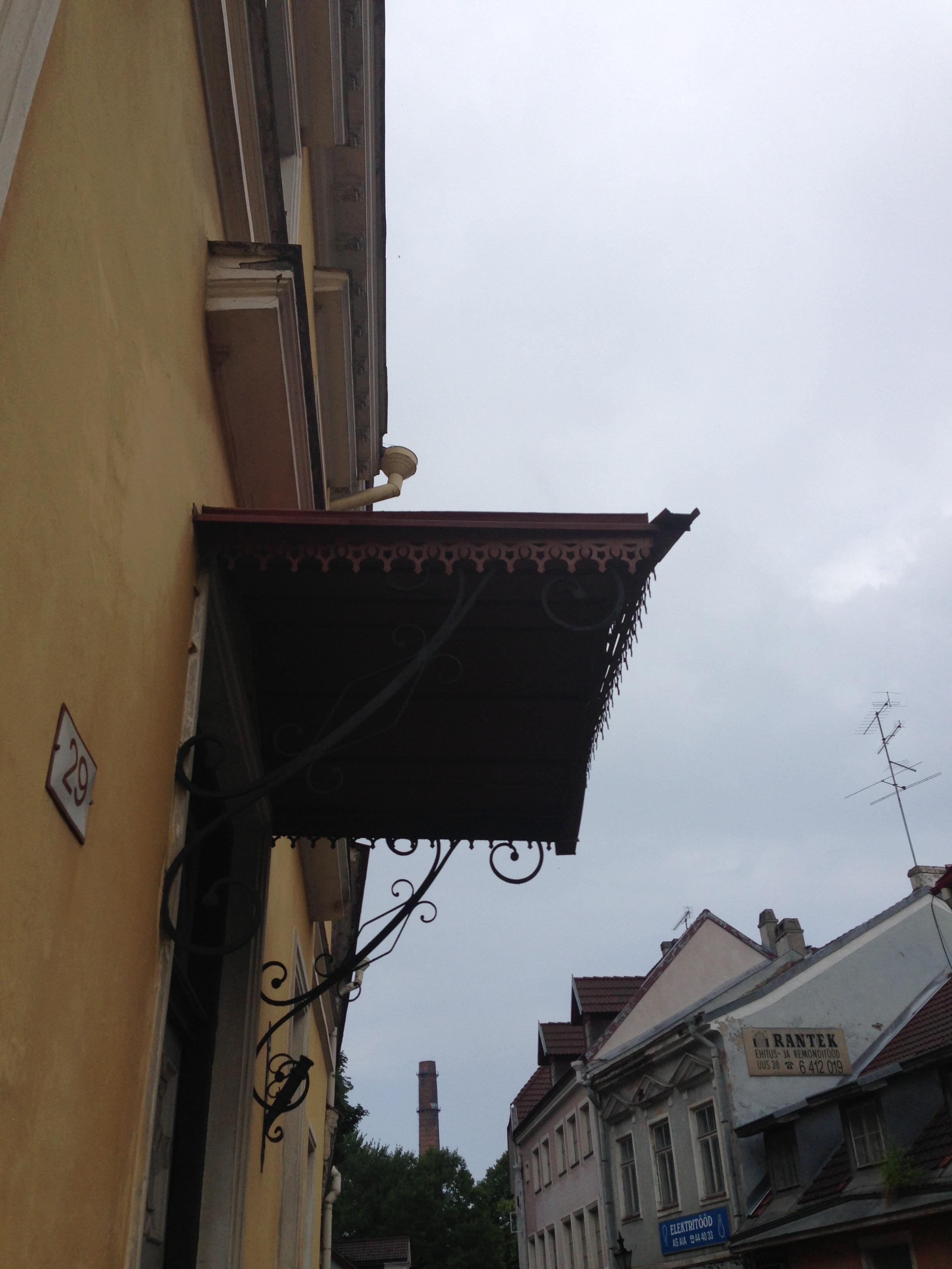 Shop sign, Tallinn