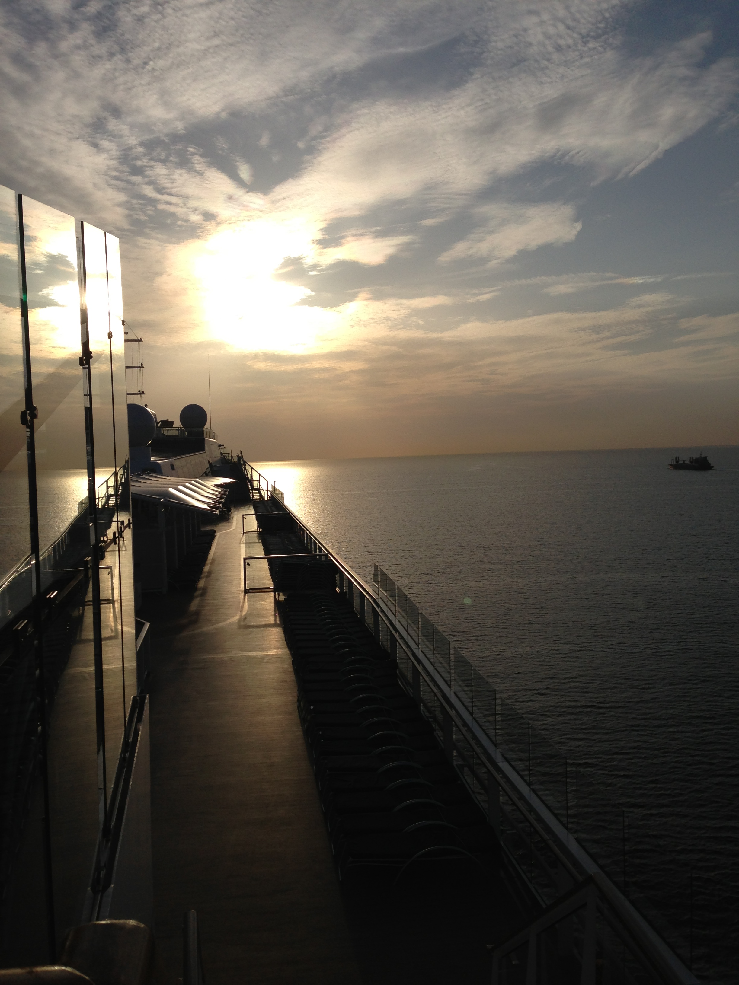 sun and Celebrity Eclipse Baltic Sea
