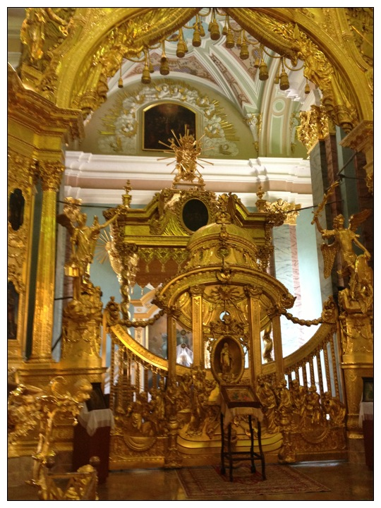 Altar, Peter and Paul Cathedral