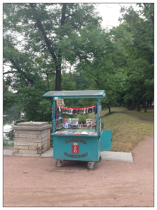 Official souvenir stand