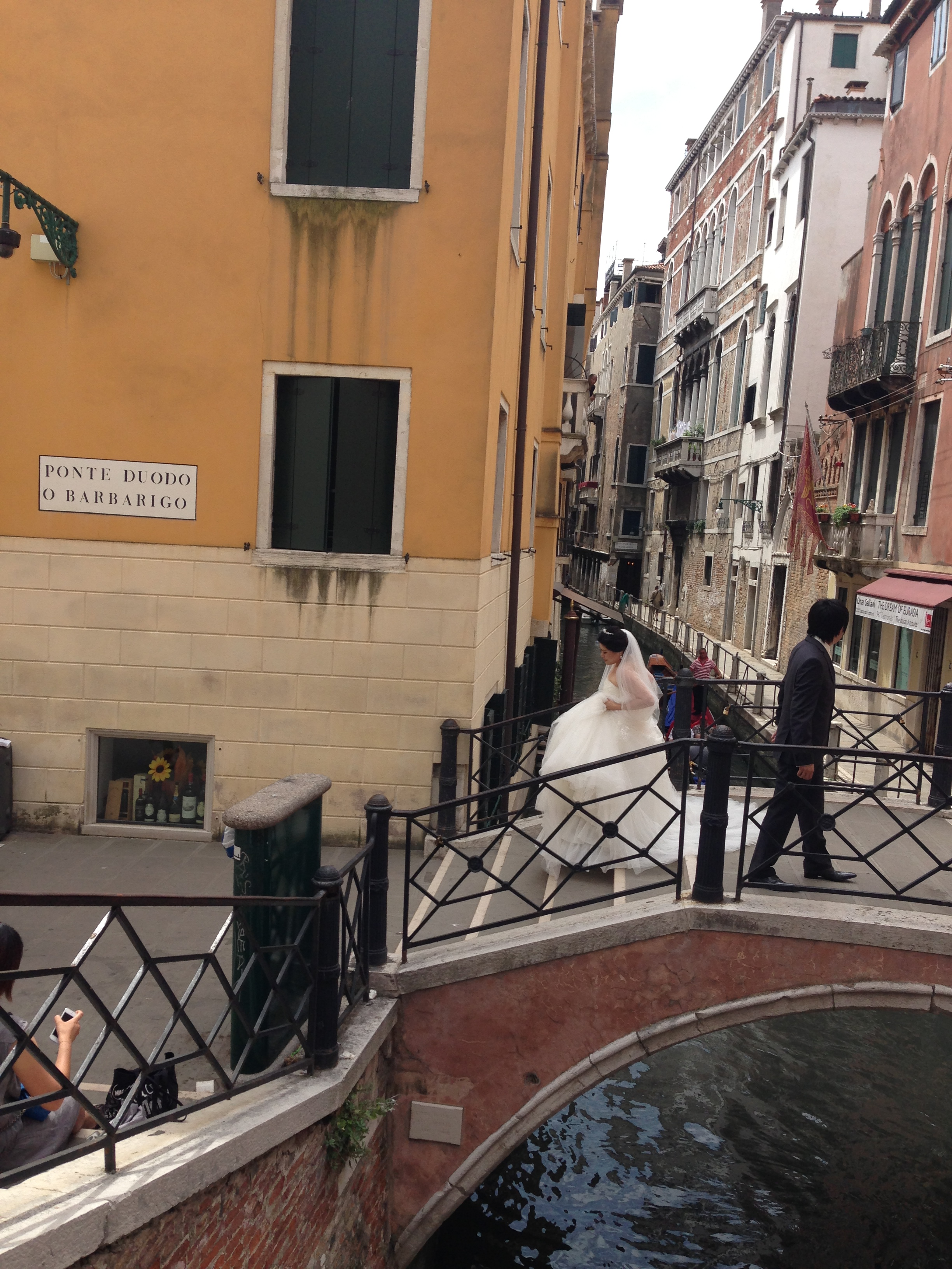 Bride and Groom Venice