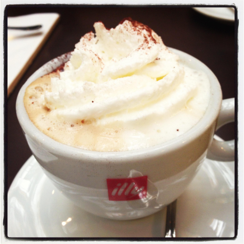 Viennese cappuccino Rome