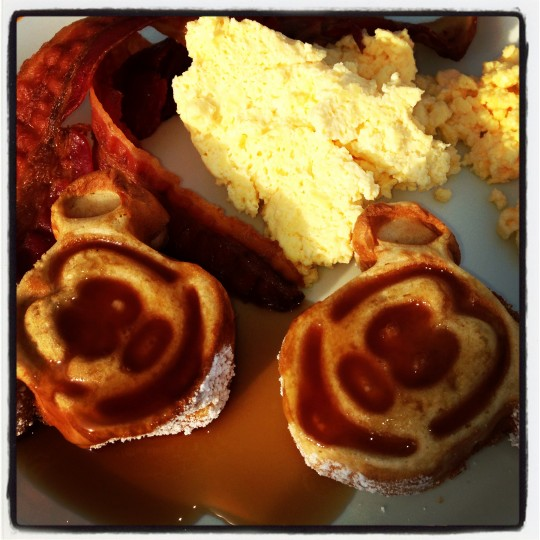 Disney cruise breakfast